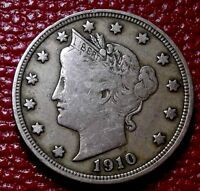 VINTAGE U.S. COIN1910 LIBERTY