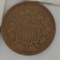 1866 TWO-CENT PIECE Z83