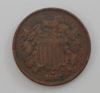 1867 TWO-CENT PIECE Q82