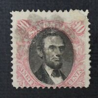 CKSTAMPS: US STAMPS COLLECTION SCOTT122 90C PICTORIAL USED TINY THIN CV$1900