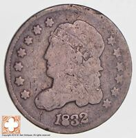 1832 CAPPED BUST HALF DIME LM14 R4  2778