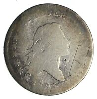 1795 FLOWING HAIR HALF DOLLAR   CIRCULATED  1258