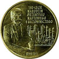 POLAND   2 ZLOTE   2003   PETROLEUM AND GAS INDUSTRY   UNC