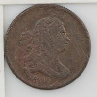 1806 DRAPED BUST HALF CENT Z05
