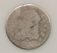 1830'S CAPPED BUST SILVER HALF DIME G17