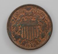1865 TWO CENT PIECE  Q85