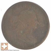 1804 DRAPED BUST HALF CENT XB22