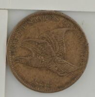 1858 FLYING EAGLE ONE CENT 419