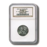 USA VERMONT STATE QUARTER CLAD 25 CENTS 2001 NGC PROOF 69 ULTRA CAMEO