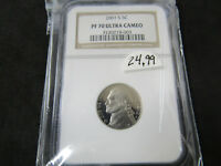2001-S PROOF NICKEL NGC PF 70 ULTRA CAMEO