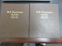 2007-2016 PRESIDENTIAL DOLLAR COMPLETE 117 COIN SET P&D & PROOF IN DANSCO ALBUMS