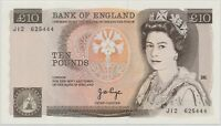 GREAT BRITAIN 10 POUNDS ND 1975 92  P.379A_UNC