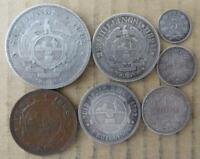 SOUTH AFRICA ZAR KRUGER COIN SET PENNY TO 5 SHILLINGS. 7 COI
