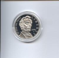 2009 LINCOLN SILVER DOLLAR PROOF