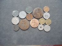 WORLD COINS. 15 PIECES  STARTING WITH 1886 .LOT A 85