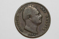 VERY FINE GREAT BRITAIN 1834 FARTHLING COIN KM 705  GB288