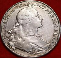 1756 GERMAN STATES BAVARIA THALER SILVER FOREIGN COIN FREE S