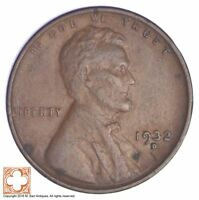 1932 D LINCOLN WHEAT CENT  YB51