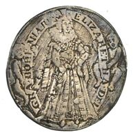 LATE 1600S ELIZABETH OF BOHEMIA JETON TOKEN    CIRCULATED  1241