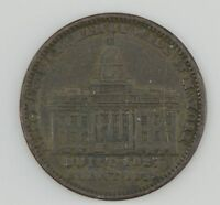 1800'S TOKEN MERCHANTS EXCHANGE OF WALL ST NY/NOT ONE CENT FOR TRIBUTE  Z09