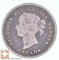1888 CANADA 5 CENTS  1255