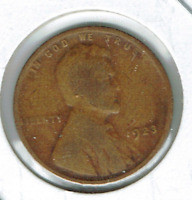 1923 PHILADELPHIA CIRCULATED CIRCULATION STRIKE COPPER ONE CENT COIN