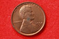 1934-D LINCOLN WHEAT CENT CENT  CIRCULATED COIN  HIGH GRADE V28