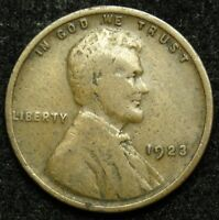 1923 LINCOLN WHEAT CENT PENNY G GOOD B03