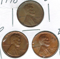1948-DPS UNCIRCULATED CIRCULATION STRIKE COPPER ONE CENT COIN