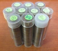 1935-S LINCOLN WHEAT CENT PENNY LOT - PENNIES - 10 ROLLS - SAN FRANCISCO - JZ317