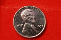 1943-S LINCOLN WHEAT STEEL CENT PENNY UNCIRCULATED V63
