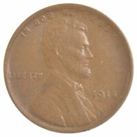 1914 LINCOLN WHEAT EARS CENT J08