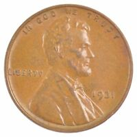 1931 LINCOLN WHEAT EARS CENT J41