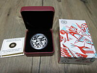2013 CANADA $20 CONTEMPORARY ART SILVER COIN W CASE COA BOX. ORIGINALLY $89.95