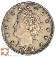 1902 LIBERTY V NICKEL XB31