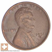 1931-D LINCOLN WHEAT CENT YB64