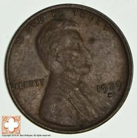 1929-D LINCOLN WHEAT CENT 2262