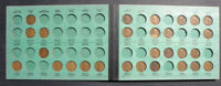 C-USA 1909-1948 LINCOLN CENT SET 2 IN MEGHRIG ALBUM