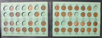 C-USA 1909-1948 LINCOLN CENT SET 3 IN MEGHRIG ALBUM
