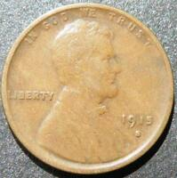 C-USA 1915 S LINCOLN CENT F