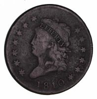1810 CLASSIC HEAD LARGE CENT - CIRCULATED 1479