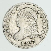 1827 CAPPED BUST DIME - CIRCULATED 4346