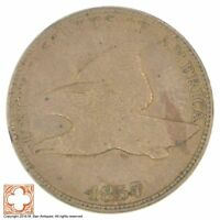 1857 FLYING EAGLE CENT YB48