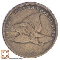 1858 FLYING EAGLE CENT YB91
