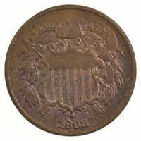 1868 TWO-CENT PIECE J04