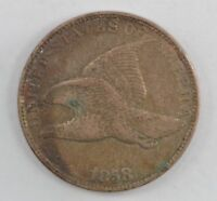 1858 FLYING EAGLE ONE CENT 560