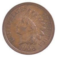 1906 INDIAN HEAD ONE CENT J43