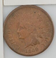 1868 INDIAN HEAD ONE CENT Z95