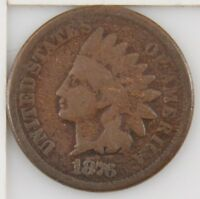 1876 INDIAN CENT ONE CENT Z44