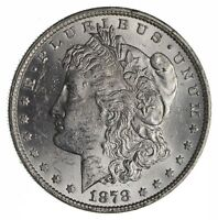 1878 MORGAN SILVER DOLLAR 7 TAIL FEATHERS - NOT CIRCULATED 1086